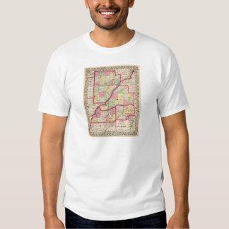 Fulton, Mason, Cass, Menard counties T-shirt