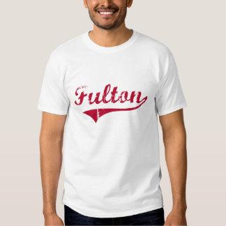 Fulton Mississippi Classic Design T-shirt