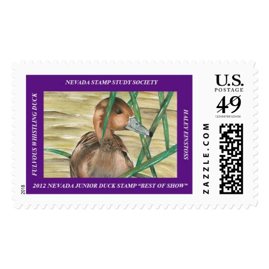 Fulvous Whistling Duck Postage