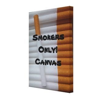 ¡Fumadores solamente! Lona Impresiones En Lona