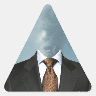 """Fumar"" Triangle Sticker"