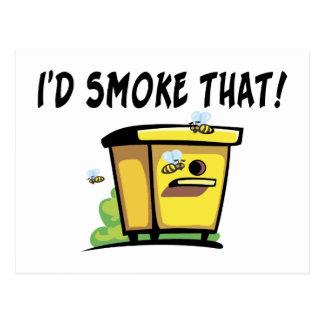 Fumaría esa colmena postal