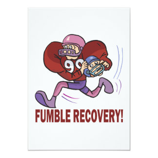 Fumble Recovery Card