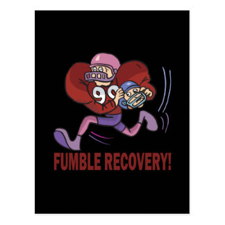 Fumble Recovery Postcard