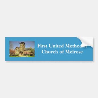 FUMC Melrose Standard Bumper Sticker