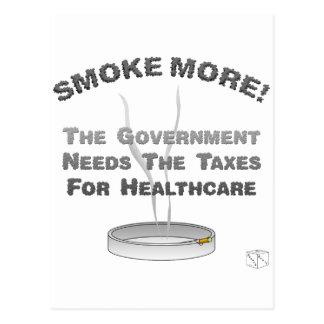 Fume más tarjetas postales