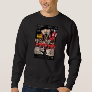"""Fumes of Fury"" Black Crew Neck Sweater"