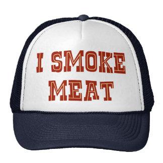 Fumo la carne gorros