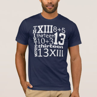 Fun 13 GRAPHIC 13th Birthday TEE