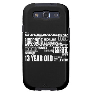 Fun 13th Birthday Party Greatest Thirteen Year Old Galaxy S3 Covers