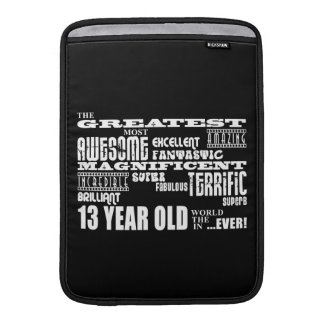 Fun 13th Birthday Party Greatest Thirteen Year Old Sleeves For MacBook Air