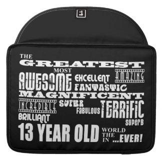 Fun 13th Birthday Party Greatest Thirteen Year Old MacBook Pro Sleeve