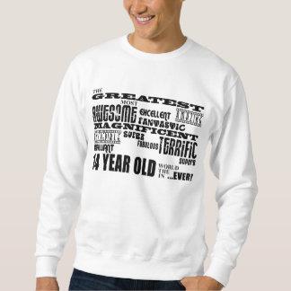 Fun 14th Birthday Party Greatest Fourteen Year Old Sweatshirt