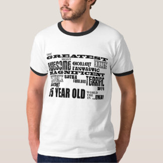 Fun 15th Birthday Party Greatest Fifteen Year Old T-shirt