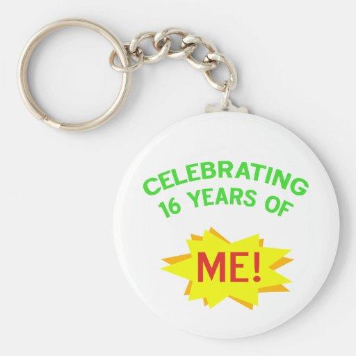 Fun 16th Birthday Gift Idea Key Chains