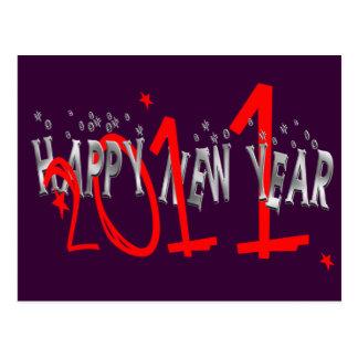 Fun 2011 Happy New Year gift Postcard