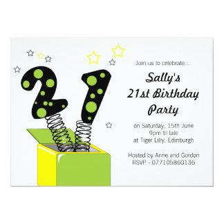 Fun 21st Birthday Party Invitation
