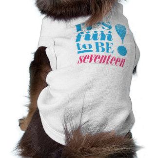 Fun 2 B 17-Aqua Dog T Shirt