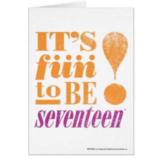 Fun 2 B 17-Orange Card