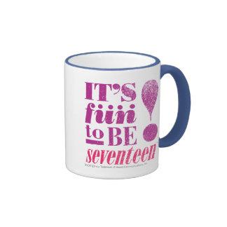 Fun 2 B 17-Purple Ringer Coffee Mug