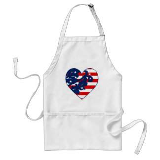 Fun 4th of July cook Adult Apron