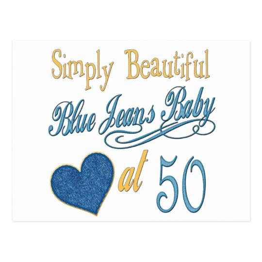 Fun 50th Birthday Gifts Postcard