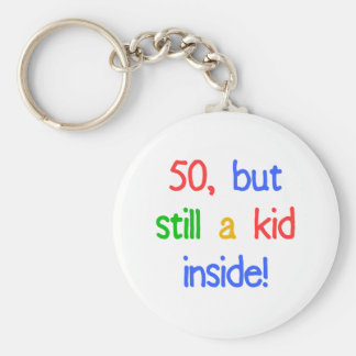 Fun 50th Birthday Humor Keychain
