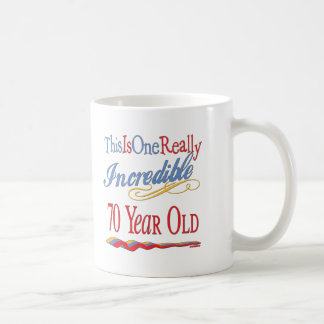 Fun 70th Birthday Gifts Classic White Coffee Mug