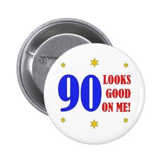 Fun 90th Birthday Gifts Pin