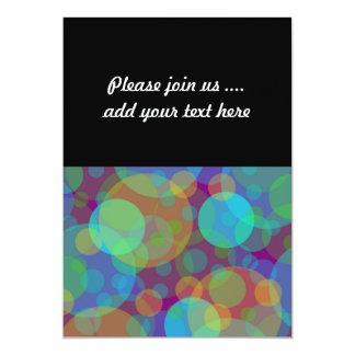 Fun Abstract Art Colorful Circles Card