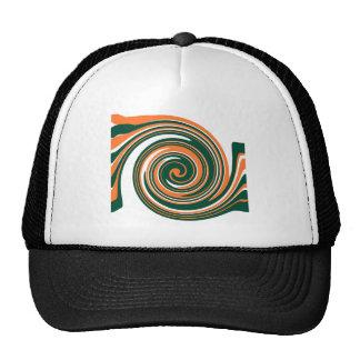 Fun Abstract Design Mesh Hats