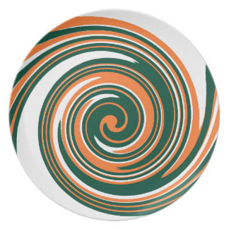 Fun Abstract Design Plate