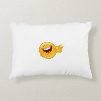 fun accent pillow
