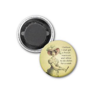 Fun Ackerman Woman Magnet for Her Fridge Magnet