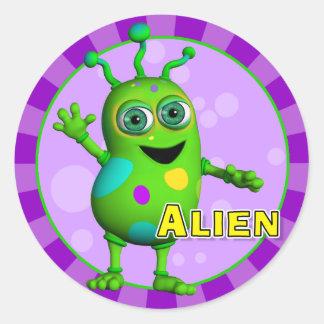 Fun Alien Stickers