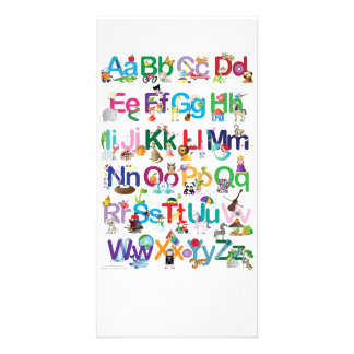 Fun Alphabet Card