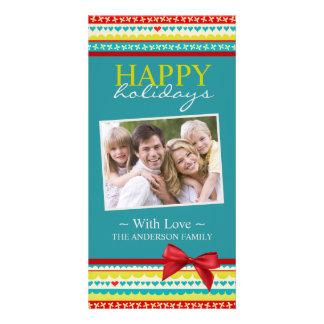 Fun and Cheerful Christmas Photo Card