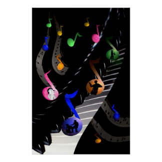 Fun and Colorful Musical Poster