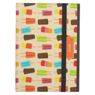 Fun and Colorful Popsicles Retro Pattern Cover For iPad Air