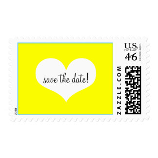 Fun and Colorful Save the Date Postage
