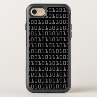 Fun and Cool Computer Binary Code Pattern OtterBox Symmetry iPhone 8/7 Case