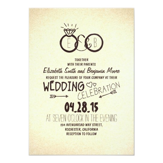 Fun and creative wedding invitations Zazzlecom