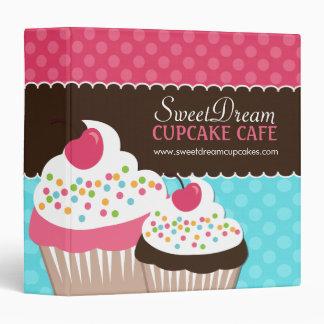 Fun and Cute Cupcake Binder