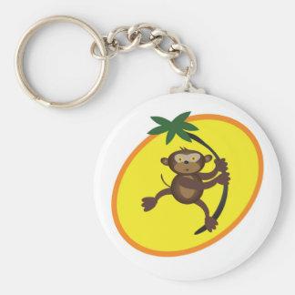 Fun and cute monkey keychain