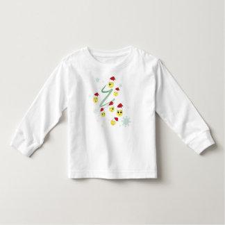 Fun and Cute Xmas Smiley Toddler T-shirt