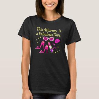 FUN AND FABULOUS ATTORNEY DIVA DESIGN T-Shirt