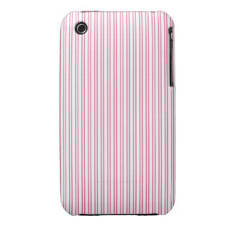 Fun and Festive Pink Pin Striped Pattern iPhone 3 Cover