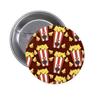 Fun and Fresh Movie Popcorn Button