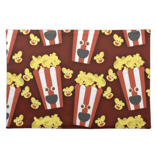 Fun and Fresh Movie Popcorn Placemat