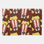 Fun and Fresh Movie Popcorn Towel